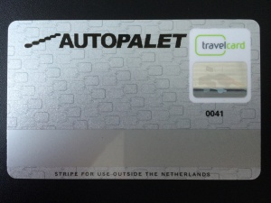 Upgrade bij Travelcard
